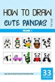 How to Draw Cute Pandas for Kids - Volume 1 (English Edition)