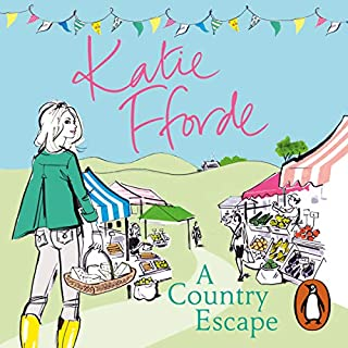 A Country Escape                   By:                                                                                                                                 Katie Fforde                               Narrated by:                                                                                                                                 Jilly Bond                      Length: 8 hrs     100 ratings     Overall 4.5