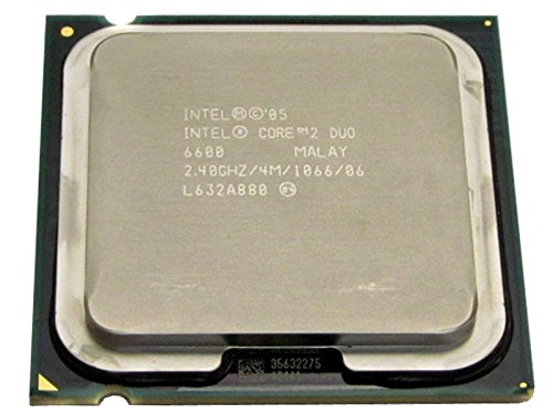 HP Intel Core 2 Duo E6600 2.4 GHz 4 MB L2 Prozessor – Prozessoren (Intel Core 2 Duo, 2,4 GHz, LGA 775 (Socket T), PC, 65 Nm, E6600)
