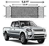 Cargo Net Truck Bed Envelope Style Automotive Cargo Netting Trunk Mesh for GMC Sierra 2013-2021,Chevrolet Silverado WT LS LT LTZ 2013 2014 2015 2016 2017 2018 2019 2020 2021 New