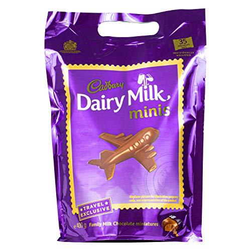Cadbury | Dairy Milk Chunks | einzeln verpackte Schokolade | 400g