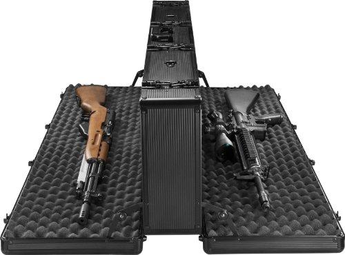 BARSKA BH11982 Loaded Gear AX-400 Hard Rifle Case, Black