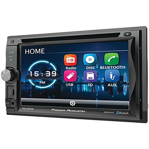 Power Acoustik PD-625B Double DIN Bluetooth Incite DVD Car Stereo w/6.2 Screen