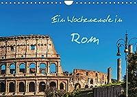 Ein Wochenende in Rom (Wandkalender 2022 DIN A4 quer): Ein Spaziergang durch die historische Altstadt der italienischen Hauptstadt Rom (Monatskalender, 14 Seiten )