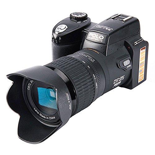Jiayuan Fotocamera Digitale, 33Milioni di Pixel Auto Focus Polo PROTAX Professional Reflex Fotocamera Video Zoom Ottico 24x Tre obiettivi