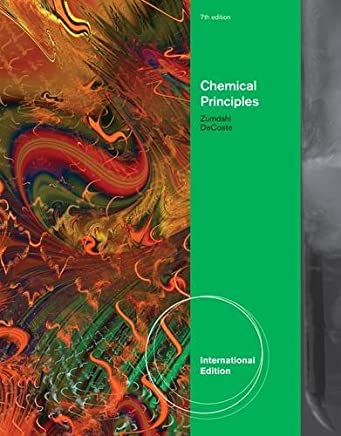 Chemical Principles by Steven S. Zumdahl (29-Mar-2012) Paperback