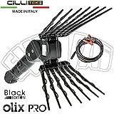 CilliTek OLIX PRO Black Edition ABBACCHIATORE SCUOTITORE Elettrico A Batteria Raccolta Olive