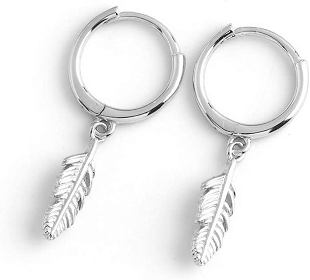 Huggie Small Sleeper Hoop Earrings NEW before selling ☆ Women for All items in the store Silv Girls Sterling