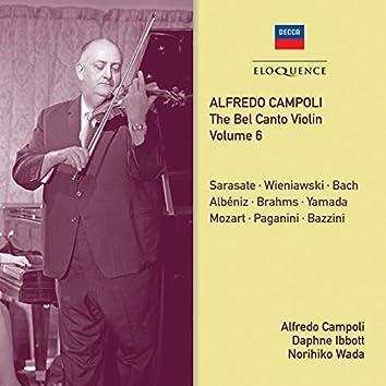 Alfredo Campoli: The Bel Canto Violin - Vol. 6