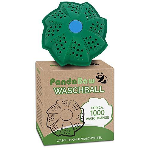 """PandaBaw® Öko Waschball [TEST:\""""SEHR GUT\""""] - Nachhaltig Waschen ohne Waschmittel - Bio Waschkugel für Waschmaschine - höchste Qualität für Allergiker, Kinder und Umweltbewusste - inkl Zero Waste eBook"""