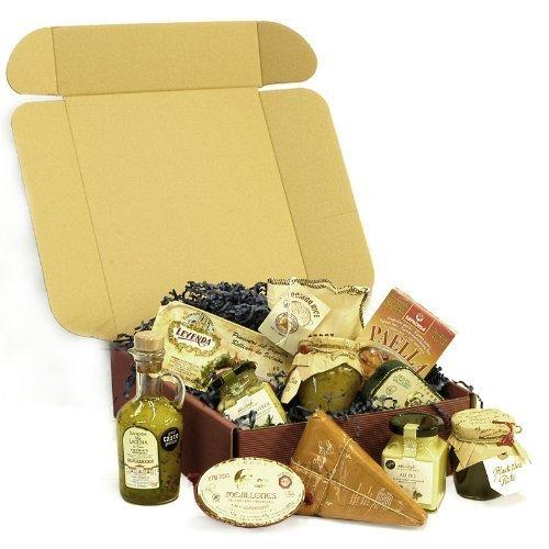 be90715439fe Gourmet Spanish Food Gift Hamper - Paella Mix, Bomba Rice, Olive Pate, Olive