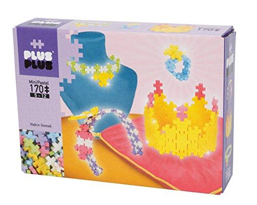 Plus-Plus 9603723 Geniales Konstruktionsspielzeug, Pastel Jewelry, Schmuck und Accessoires, Bausteine-Set, 170 Teile