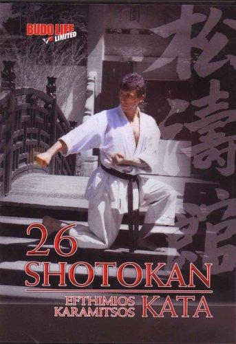 26 Shotokan Karate Kata von Efthimios Karamitsos