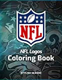NFL Coloring Book: The Definitive National Football League Logo Collection