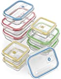 Vremi 18 Piece Glass Food Storage Containers with Locking...