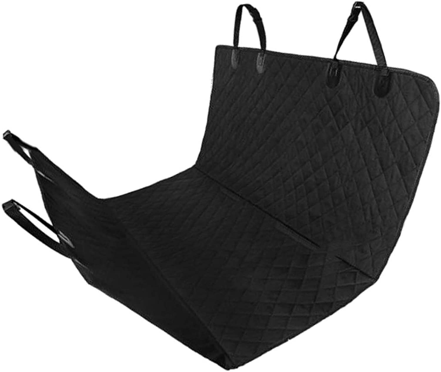 MagiDeal Dog Car Seat Covers Back Seat Black Waterproof Hammock for RV, Trucks, SUV