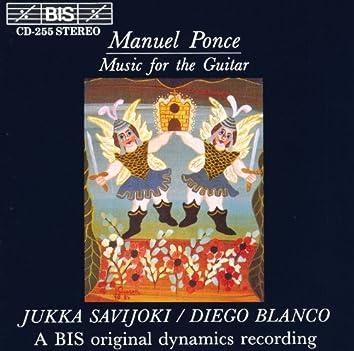 Ponce: Sonatina Meridional / Tema Variado Y Final / Suite En La / Tropico / Cancion Popular Gallega