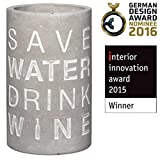 Räder Vino Beton Weinkühler Save Water Drink Wine - 4