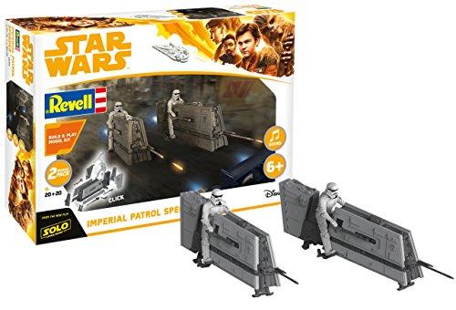 Revell REV-06768 Imperial Patrol Speeder aus Disney Star Wars HAN Solo Toys, verschieden
