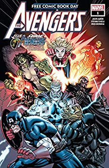 Free Comic Book Day 2019 (Avengers/Savage Avengers) #1 by [Jason Aaron, Gerry Duggan, Ed McGuinness, Stefano Caselli, Mike Deodato]