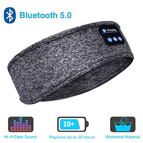 Sleep Headphones Bluetooth Headband,Upgrage Soft Sleeping Wireless Music Sport Headbands, Long Time...