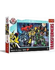 Trefl, Puzzel, Autobot-team, Transformers, 100 stukjes, voor kinderen vanaf 5 jaar