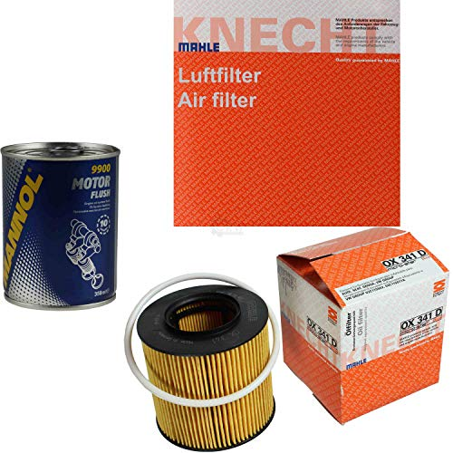 MAHLE/KNECHT Inspektionspaket Filter Set SCT Motor Flush Motorspülung 11600568