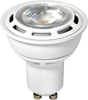 Euri Lighting EP16-2050w LED PAR16 Bulb, MCOB Line, Cool White 5000K, Dimmable, 6W (50W Equivalent), 400 lm, 38 Degree Beam Angle, 90+ CRI, GU10 Base, UL-Listed