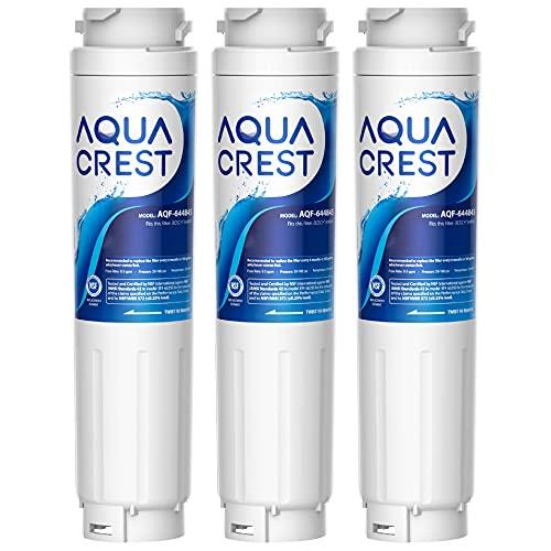 3x AQUACREST 644845 Kühlschrank Wasserfilter Ersatz, Kompatibel mit Bosch Ultra Clarity 644845, Siemens Neff Miele 740560 00740560 9000194412 REPLFLTR10 Haier 0060820860 0060218743