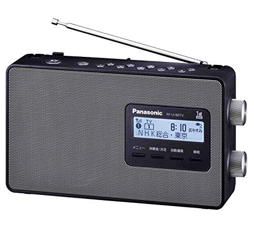パナソニック『ワンセグTV音声-FM-AM3バンドレシーバーRF-U180TV』