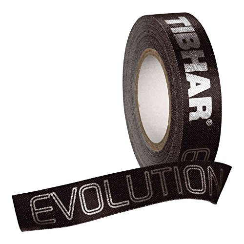 Tibhar Kantenband Evolution 12mm/5m Optionen St, schwarz