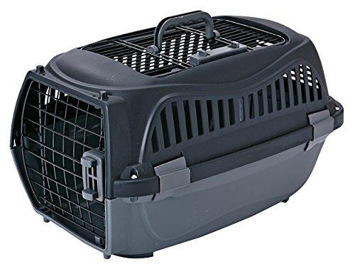 ペティオ (Petio) 2ドア スマイルキャリー ブラック ペット用 M サイズ