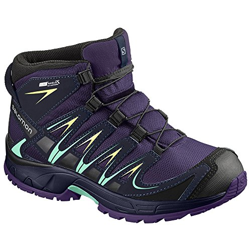 adidas XA Pro 3D Mid CSWP Trail, Chaussures de Running Garçon Mixte Enfant, Petrol/Schwarz Petrol/Schwarz, 33 EU