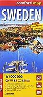 comfort! map Sweden