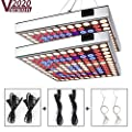 LED Grow Light for Indoor Plants,2020 New Version Sunlike Full Spectrum Plant Light with IR & UV LED for Micro Greens/Clones/Succulents,Multiple Panels Can Be Connected