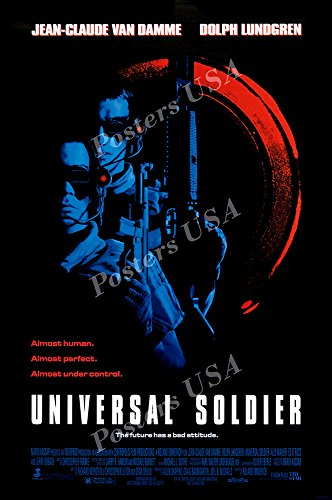 Posters USA - Van Damme Universal Soldier Movie Poster GLOSSY FINISH - FIL184 (24' x 36' (61cm x 91.5cm))