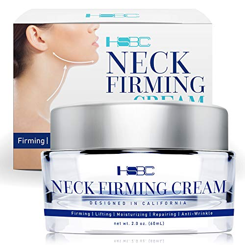 HSBCC Neck Firming Cream with Peptides,Neck Cream,Neck Moisturizer Cream,Anti Wrinkle Anti Aging...