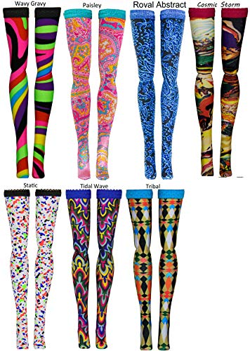 Prints 2 Doll Stockings for Ever After and Monster High dolls - all sizes