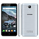 Doogee Y6C - Smartphone Libre 4G LTE (Android 6.0, Pantalla 5.5', 8.0 Mp, 16GB ROM, 2GB RAM,...