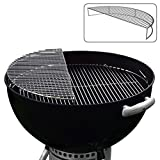 The Original 'Upper Deck' Stainless Steel Grilling Rack/Warming Rack/Smoking Rack/Charcoal Grill...