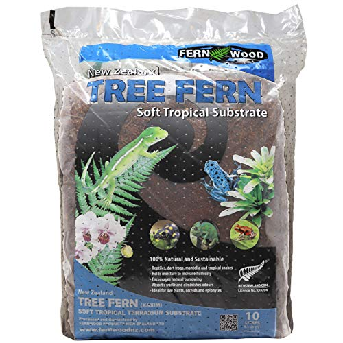 Fernwood Orchid Growing Medium and Reptile Substrate- Natural, Organic, Long Lasting | for Orchids and Other Epiphytes | Use in Terrariums and Vivariums | 10 Liters (9.1 U.S. Quarts)