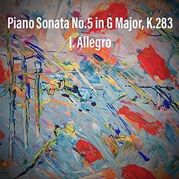 Mozart: Piano Sonata No. 5 in G Major, K.283: I. Allegro