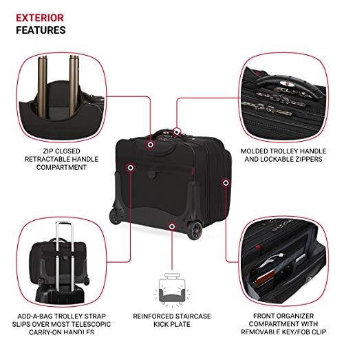 Wenger luggage Patriot II 15.6-Inch, Black