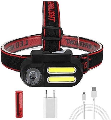 HUIZHANG Headlamp Outdoor Camping COB Long Beach Mall Mini Time sale Portable LED