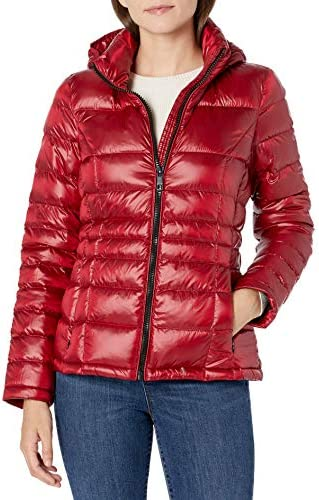 Calvin Klein Womens Short Packable Down Coat PZ5 S product image
