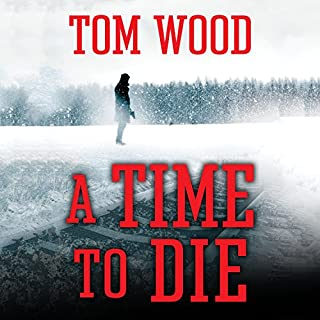 A Time to Die audiobook cover art