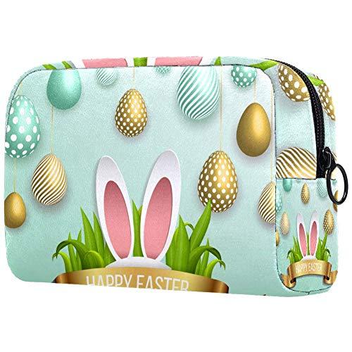Trousse de toilette pour femme Motif lapin de Pâques