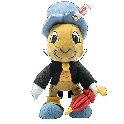 Steiff 355530 Disney Jiminy Grille, Mohair/Wollfilz, 20 cm, mehrfarbig