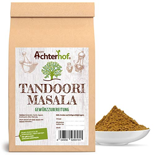 100g Tandoori Masala Gewürzmischung, gemahlen, indisches Gewürz , für Geflügelfleisch, Reis und Hackfleisch.