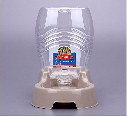 Old Tjikko Small Pet Drinker for Dog and Cat, Puppy Water Bowl Automatic Drinker,32 Ounce/ 946.3ML Self Waterer for Small Animals
